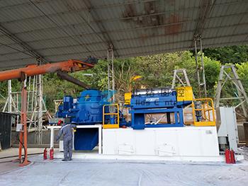 钻井废弃物泥浆不落地系统