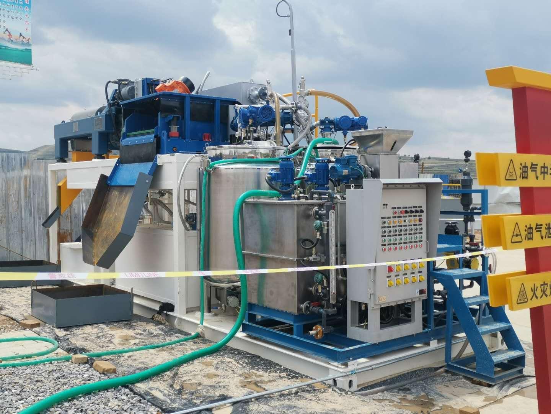 北钻含油污泥处理系统