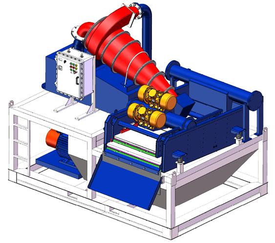 BZNSP250-60泥水分离系统