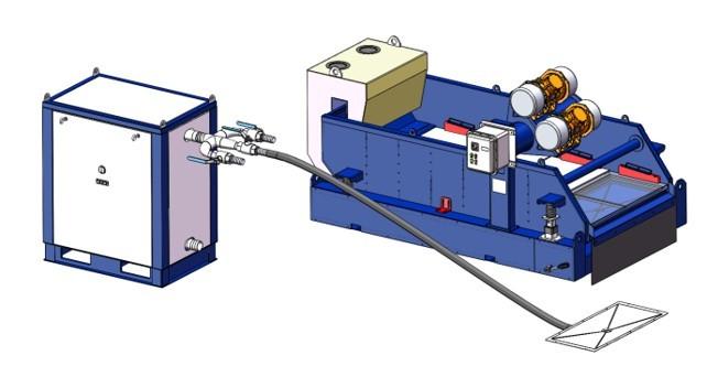 真空负压吸附振动筛优势和安装调试